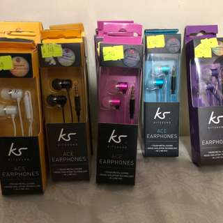 KitSound有線耳機入耳式連咪高峰