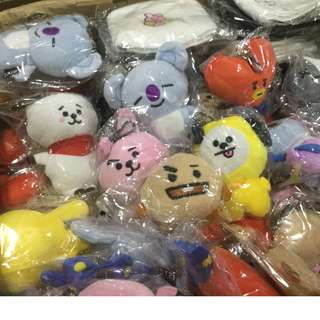 (instock) BT21 Unofficial Bag Charm