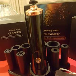 MAKEUP BRUSH CLEANER AND DRYER BATTERY OPEARYED