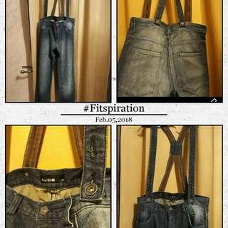 Denim Jeans/Jumper (Size 32)