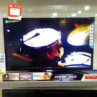 """TV LED Polytron 32"""" kredit gratis 1X Cicilan"""