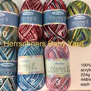 Baby yarn