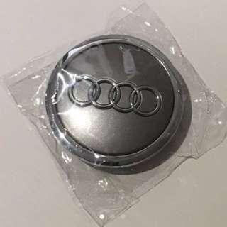 69mm Grey Chrome Audi Wheel Center Cap