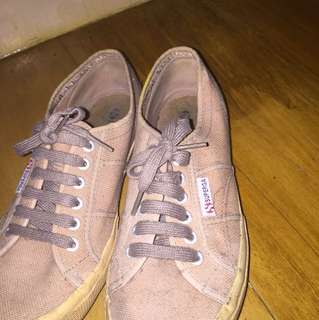 Superga- brown color size 40 (women's 9)