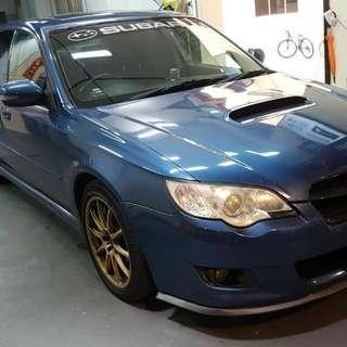 Subaru legacy 2.5A TURBO