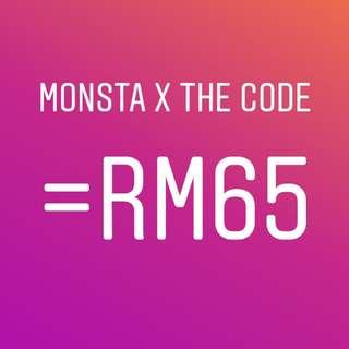 [Promo] monsta x the code album