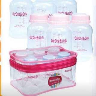 Breastmilk Storage Bottles - Standard Neck