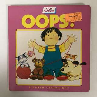1987 Flap Book - Oops ! by Stephen Cartwright