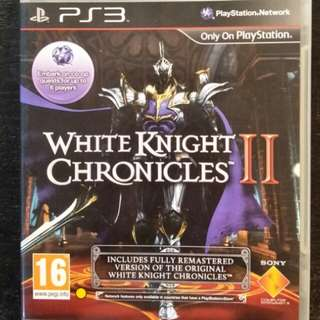 PS3 White Knight Chronicles II