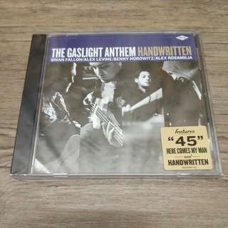 The Gaslight Anthem - Handwritten CD Album (Brand new and Unopened)