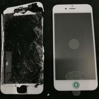 iphone glass crack repair
