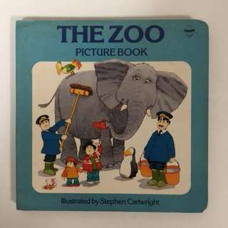 1986 The Zoo Picture Book - Stephen Cartwright