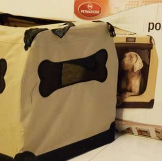 Port-a-crate indoor outdoor pet home