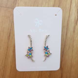 Korea Blings within Stars Earrings #Easter20