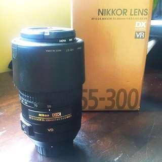 55-300mm lens