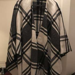 Brookes Brother wool poncho