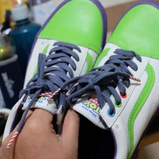 REPRICED!! Vans OS Toy Story Buzz Lightyear