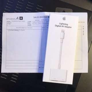 Apple Lighting Digital AV Adapter