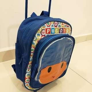 Kids Pocoyo Bag With Handle (Blue)