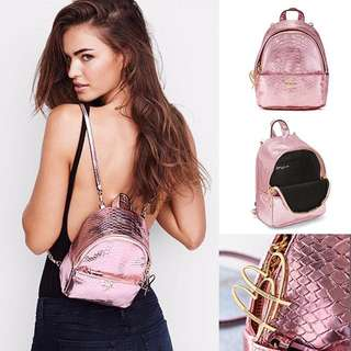 *Victoria's Secret* Luxy Python Mini City Backpack美國正版現貨比store更平!!