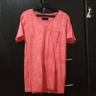 (Can fit large) Angelo Litrico Red Faded Shirt