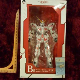 👍Banpresto Ichiban Kuji Mobile Suit Red RX-0 Unicorn Gundam - Possibility of Beast- Destroy Mode Prize B Super Size MISB - Limited Edition Extremely Rare