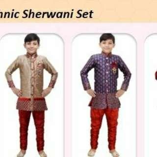 Boys Sherwani set