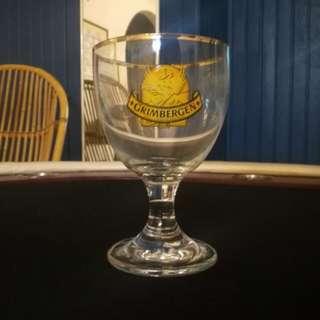 Gimbergem beer Glass