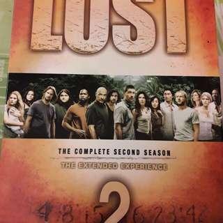 🚚 Lost 檔案第二季DVD(共七碟)(多項大獎)