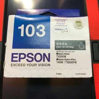 Epson black ink cartridge (extra capacity)