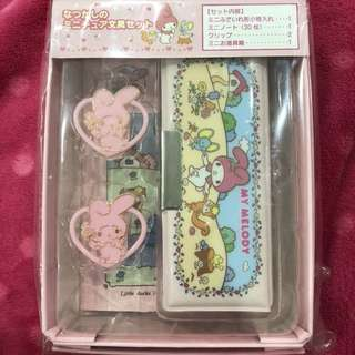 Vintage my melody stationary set