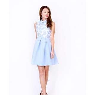 MGP Belle Vanity Cheongsam in Blue XS