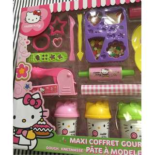 hello kitty dough playset