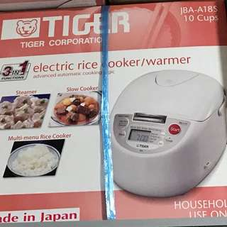 Tiger 3 In 1 Functions 10 Cups Rice Cooker JBA-A18S