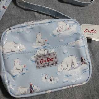 Handbag Small Polar Bear Ice Blue