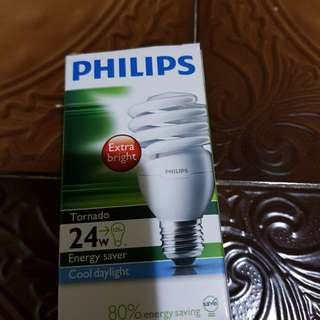 Philips Light Bulb - 24w ( extra bright )