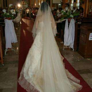 Wedding Gown. Used. Pina Jusi