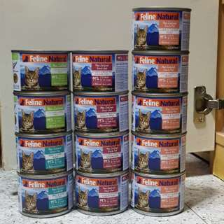 Feline natural cat canned food(15cans)
