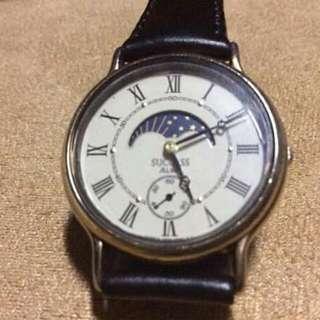 ALBA Success by Seiko Moon/Sun Vintage Watch