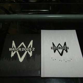 Watch dogs 2 Lithographies and Artbook