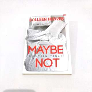 Novel Maybe Not by Coleen Hoover