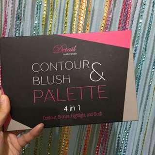 Detail Contour & Blush Palette