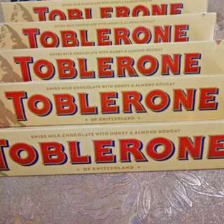 TOBLERONE 100g (also with buy 1 take 1)