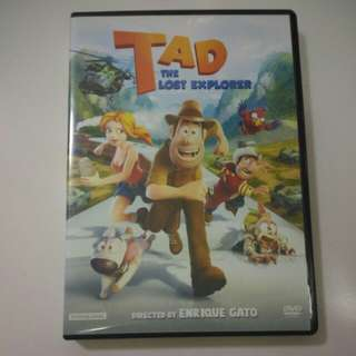 DVD TAD The Lost Explorer