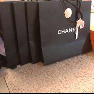 Chanel 特大紙袋