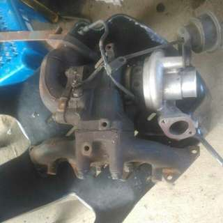 turbo TDO4 with manifold