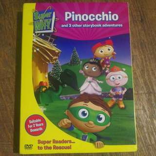 Super Why - Pinocchio DVD