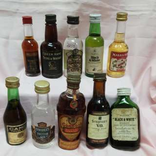 Vintage miniature liquor