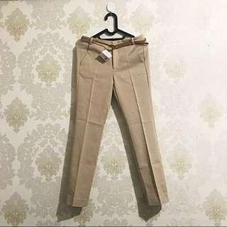 Zara nude pants