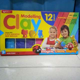 Modelling Clay 12Colours